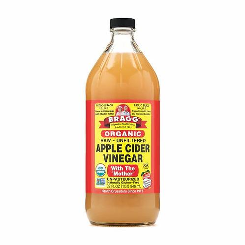 Bragg Organic Apple Cider Vinegar 32 oz (1 qt)