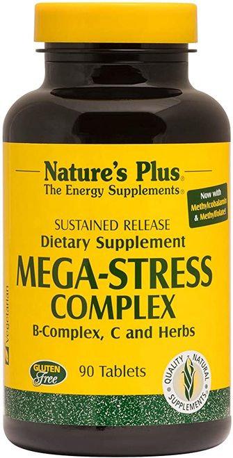 NaturesPlus MEGA-STRESS Complex  60 tabs