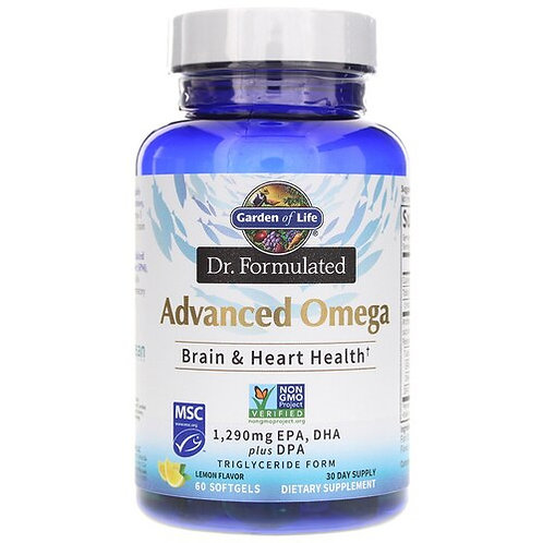 Garden of Life Dr. Formulated Advanced Omega  60 softgels