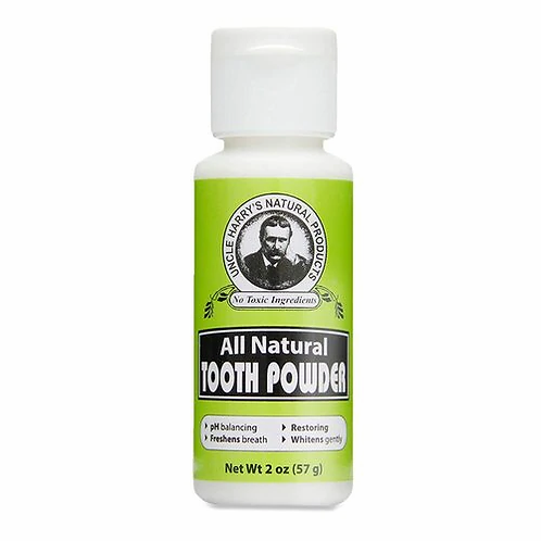 Uncle Harry's Tooth Powder  57 g