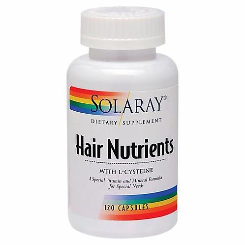 Solaray Hair Nutrients 120 caps
