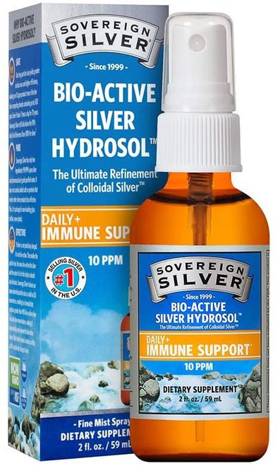 Sovereign Silver Daily+ Immune Support Fine Mist Spray 10 PPM  59 ml