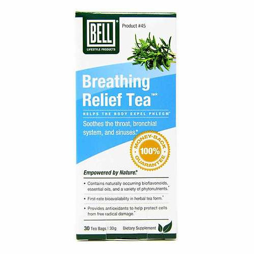 Bell Lifestyle Products Breathing Relief Tea  30 bags