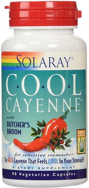 Solaray Cool Cayenne 90 caps