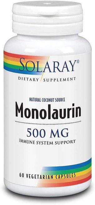 Solaray Monolaurin 500 mg  60 caps