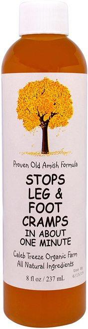 Proven Old Amish Formula Stops Leg & Foot Cramps  237 ml
