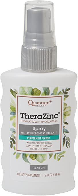 Quantum Health TheraZinc Spray Peppermint   59 ml