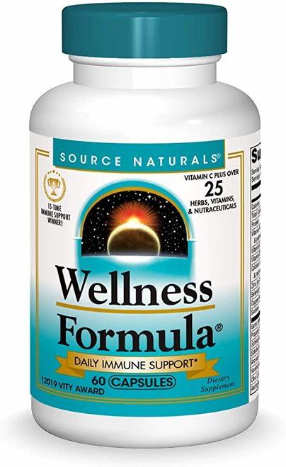 Source Naturals Wellness Formula  60 caps