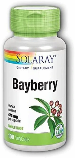 Solaray Bayberry 475 mg  100 caps