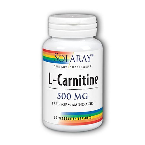 Solaray L-Carnitine 500 mg  30 caps