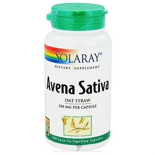 Solaray Avena Sativa Oat Straw 350 mg  100 caps