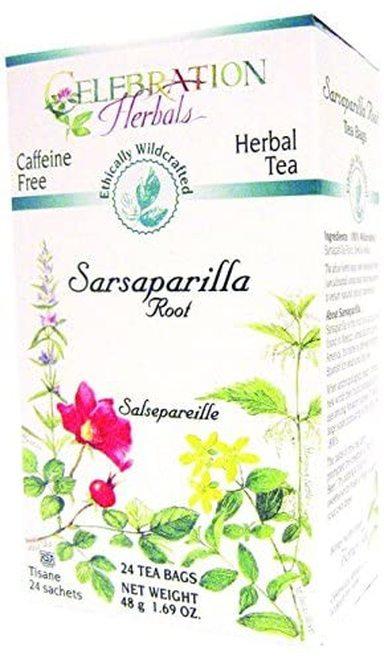 Celebration Organic Herbal Tea Sarsaparilla Root  24 bags