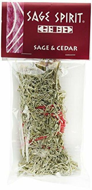 Sage Spirit Native American Incense Sage & Cedar  1 ct
