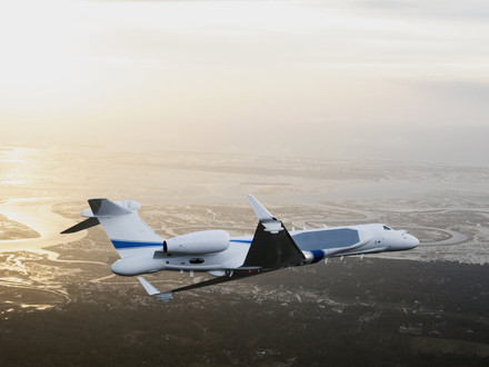 Gulfstream deliver special missions G550 to the Israeli Air Force
