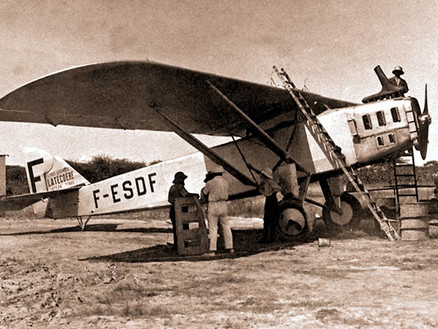 The flying life Jean Mermoz – The father of international Airmail