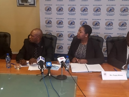The SACAA Respond to the loss of their three Crew Members and Inspection Aircraft