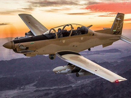 Textron Aviation Defense announces U.S. Air Force contract for Bechcraft AT-6 Wolverine aircraft