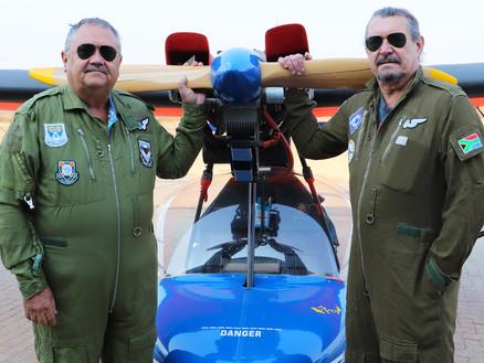 Aviation Dream Comes True for Two Ex-SAAF Photographers