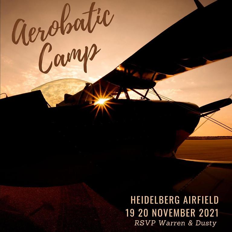 SAC Aerobatic Camp