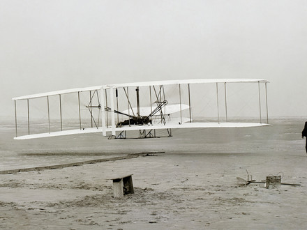 The Wright Brothers – It all began 115 years ago