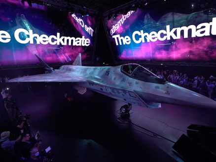 Russia's new Stealth Fighter Revealed – The Checkmate