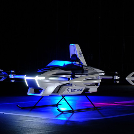 Skydrive's First Piloted Flying Car Takes to the Skies
