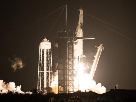 NASA SpaceX Crew-1 mission Lift-off