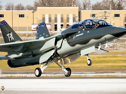 """Boeing T-7A """"Red Hawk"""" Successfully Complete Restart Test"""
