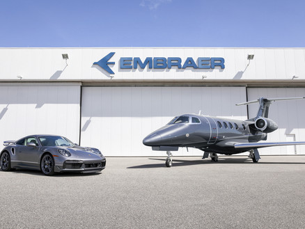 """Embraer and Porsche Limited Edition """"Duet"""""""