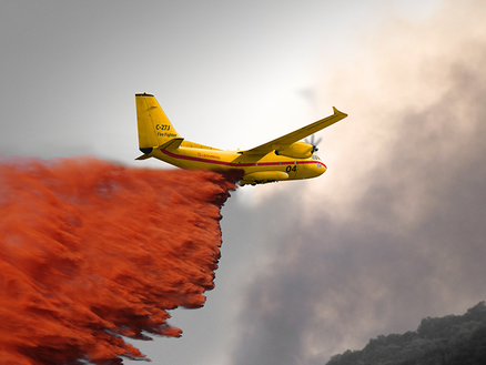 Satellites, aircraft and helicopters at the forefront of fire safety