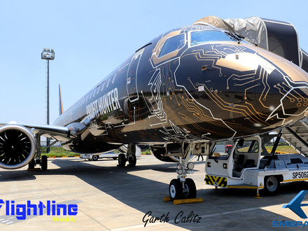 "The Embraer E195-E2 ""Profit Hunter"" visits South Africa"