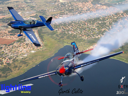 The Extra 330 LX - A True two-seat Aerobatic Competitor