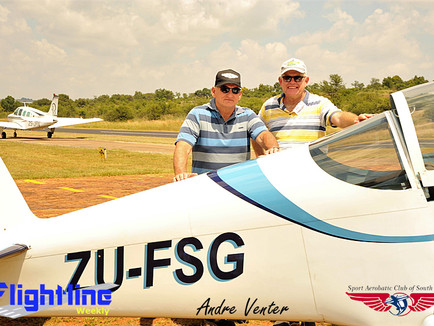 Tedderfield Weekend Warriors join the Aerobatic fraternity