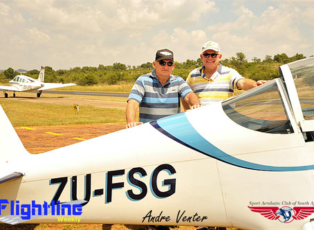 Tedderfield Weekend Warriors join the Aerobatic fraternity