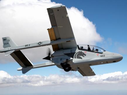 Leidos, Paramount USA, and Vertex Aerospace Bronco II Overwatch Prototype Program