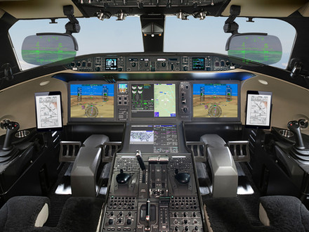 Bombardier Global 7500 now with dual HUD