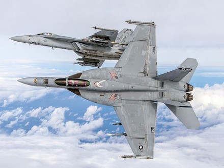 The US Navy Inducts first Modified  EA-18G Growler