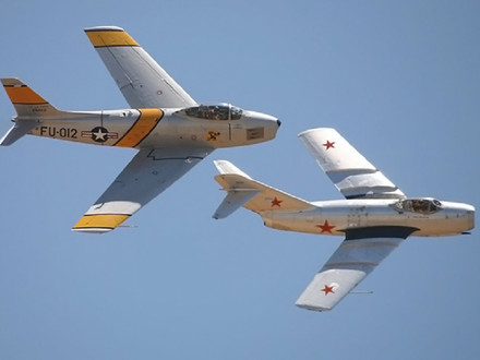 MiG Alley - The Birth of Jet on Jet Dog Fighting