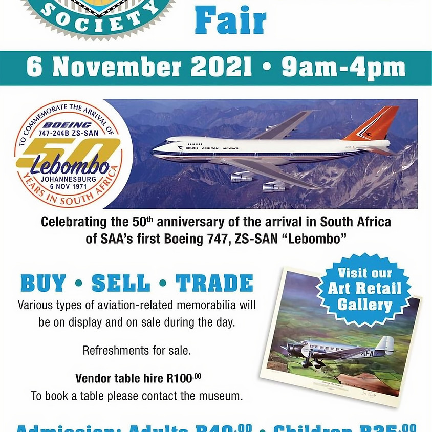 Airline Collectibles Fair