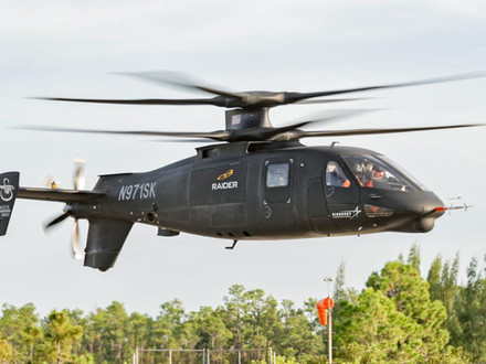 Sikorsky S-97 RAIDER Demonstrates Agility