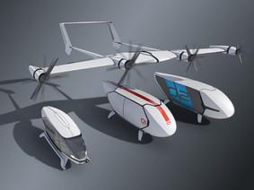 Embraer's FLEXCRAFT Concept Aircraft Revealed