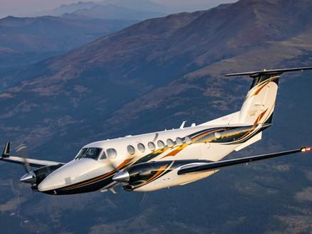 Beechcraft King Air 360 Enters Service