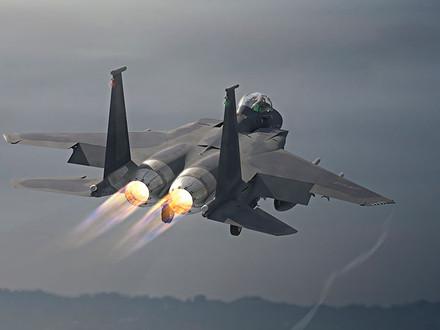 The New F-15EX's First Flight