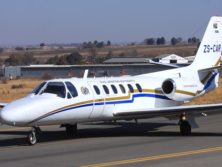SACAA's Citation Crashes near George in Western Cape