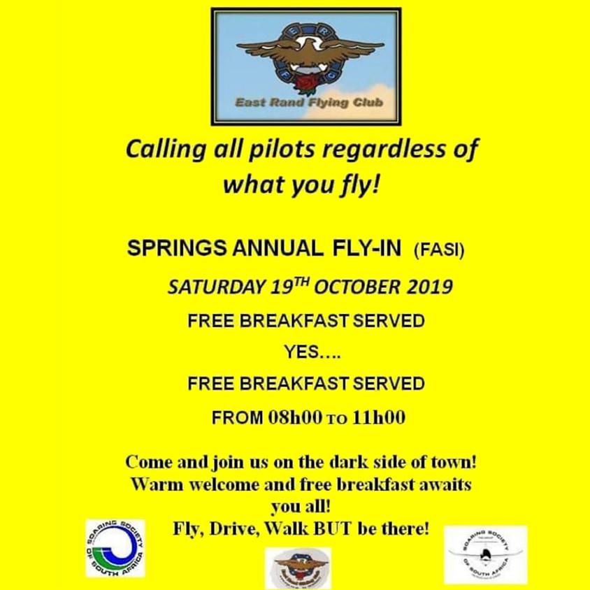 Springs Annual Fly-In Breakfast