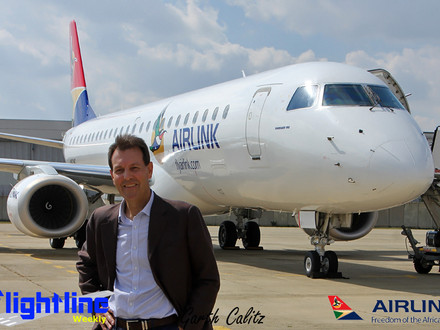 "Airlink to Operate Under Own Flight Code ""4Z"""