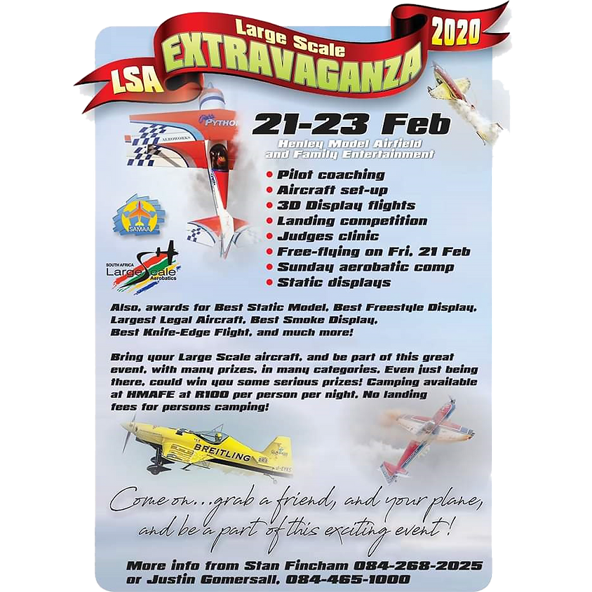 Large Scale Extravaganza 2020