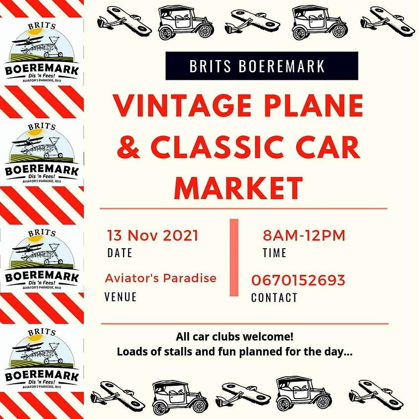 Brits Boeremark Vintage Plane & Classic Car Market