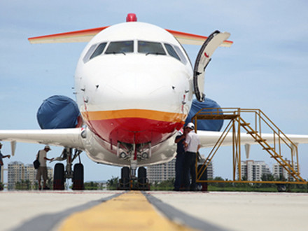 ARJ21 completes special flight test at the highest civil airport in the world
