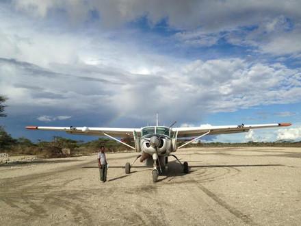 Bush Pilot Tale - Bird strike